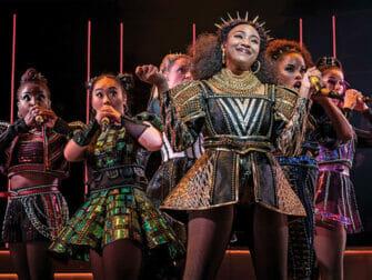 SIX Broadway billetter - Showet