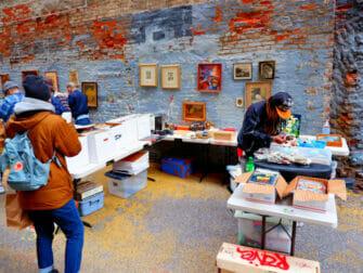 Loppemarkeder i New York - Chelsea Flea Market