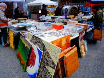 Loppemarkeder i New York - Chelsea Flea Market Manhattan