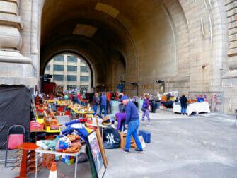 Loppemarkeder i New York - Dumbo Flea Market