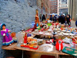 Loppemarkeder i New York