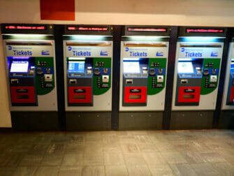 LIRR - Billetautomater