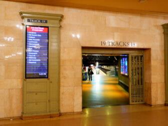 Metro North Railroad i New York - Metro North i Grand Central