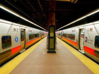 Metro North Railroad i New York - togspor