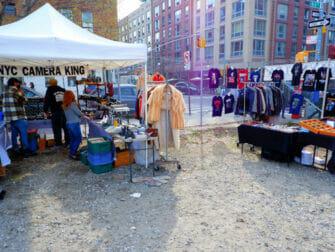 Loppemarkeder i New York - Williamsburg Flea Market