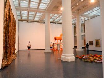 Brooklyn Museum i New York - Inde i museet