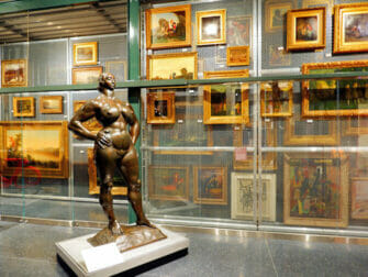 Brooklyn Museum i New York - Opbevaringslagret